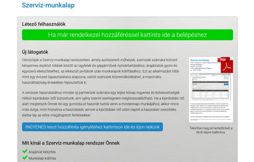 www.szervizmunkalap.hu